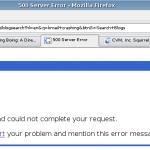Google Blog Search Server Error