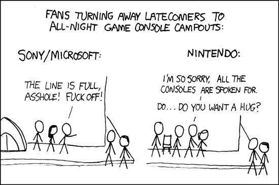 Console Lines Comparison