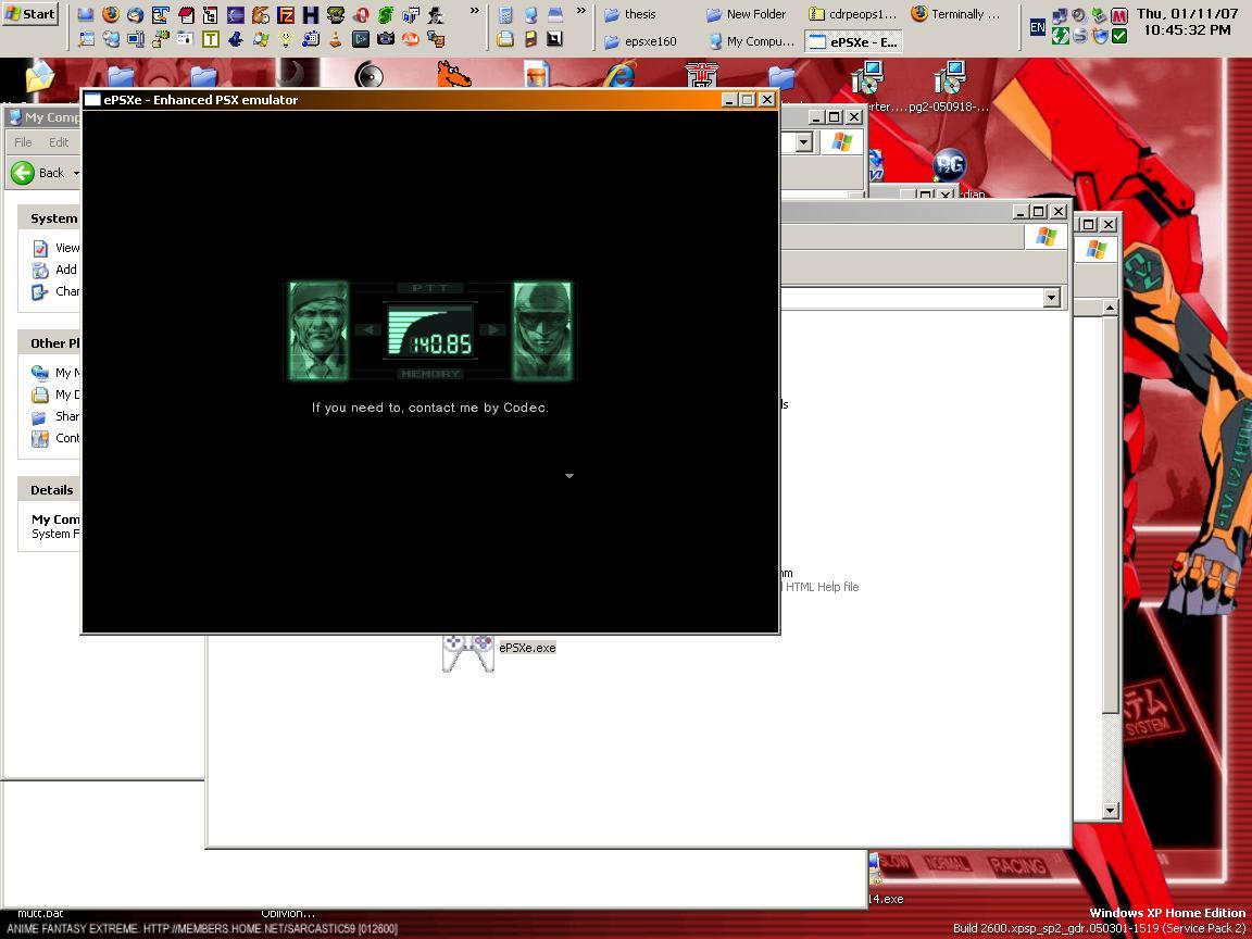 Emulating Playstation under WinXP