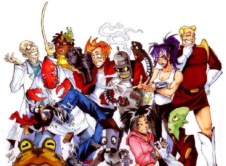 Anime Futurama