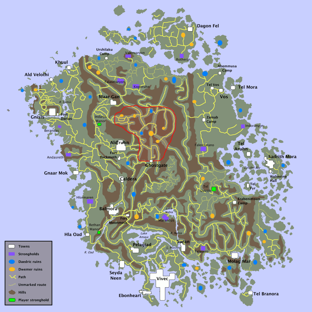 Morrowind Maps | Terminally Incoherent