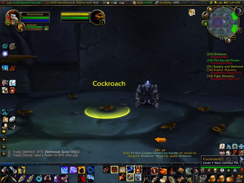 Cockroach Vendor in Undercity