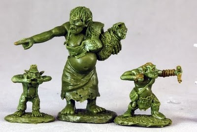 Orc Mother Minis