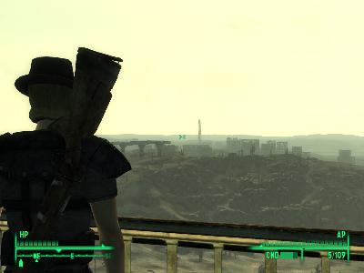 Can you see Megaton from here?
