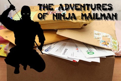 This is what happens when a retired Ninja takes a job at the post office