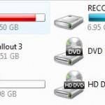Vista Disk Usage Bars