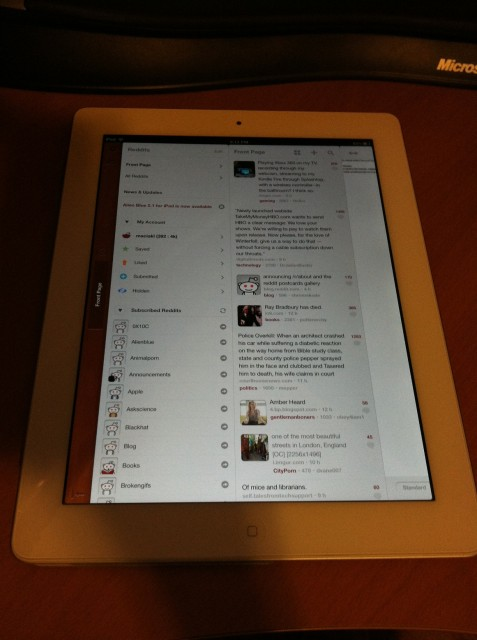 Brand Spanking New iPad