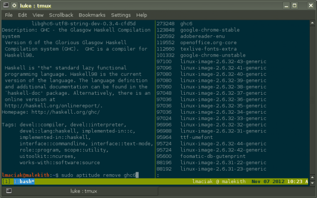 Use Tmux to make it easier