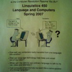 Linguistics on Electronic Translation