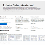 Luke's Setup Assistant: A New Home