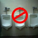 Use of Middle Urinal Considered Harmful