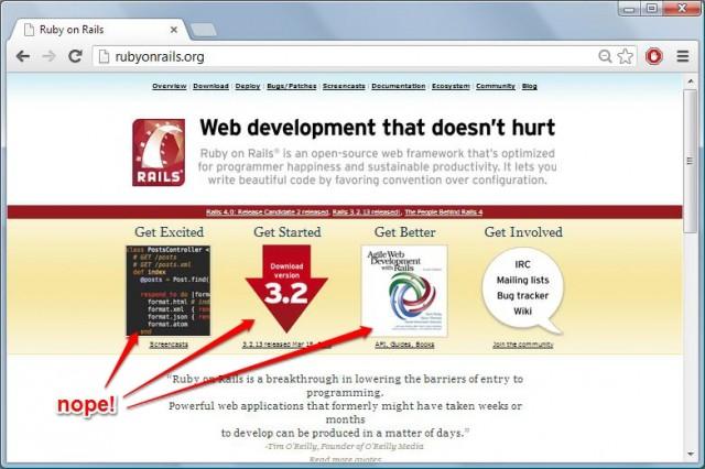 Rails Website