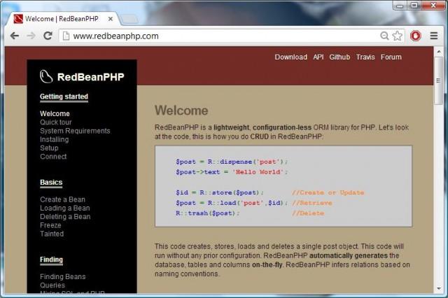 RedBean Website