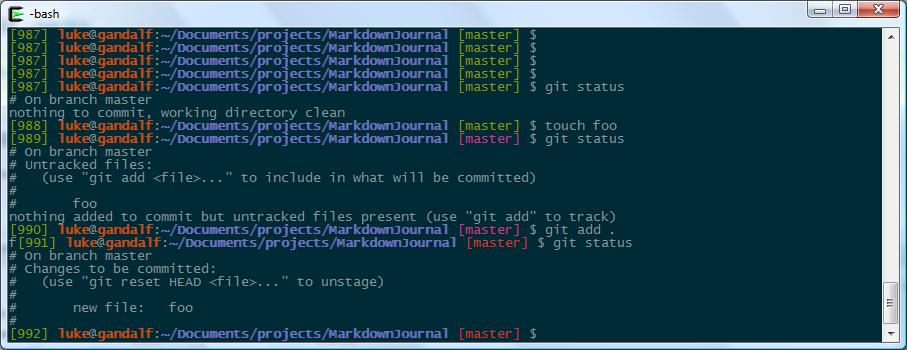 Unix ANSI colors and Windows colors in the same terminal