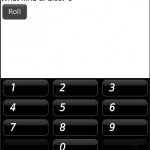 Developping Blackberry Apps: Dice Roller