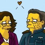 BSG Simpsons Style