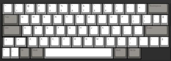 Generic Programmers Keyboard