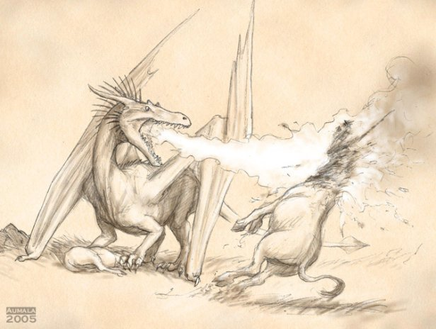 Dragon vs Unicorn