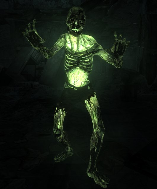 Glowing Zombie