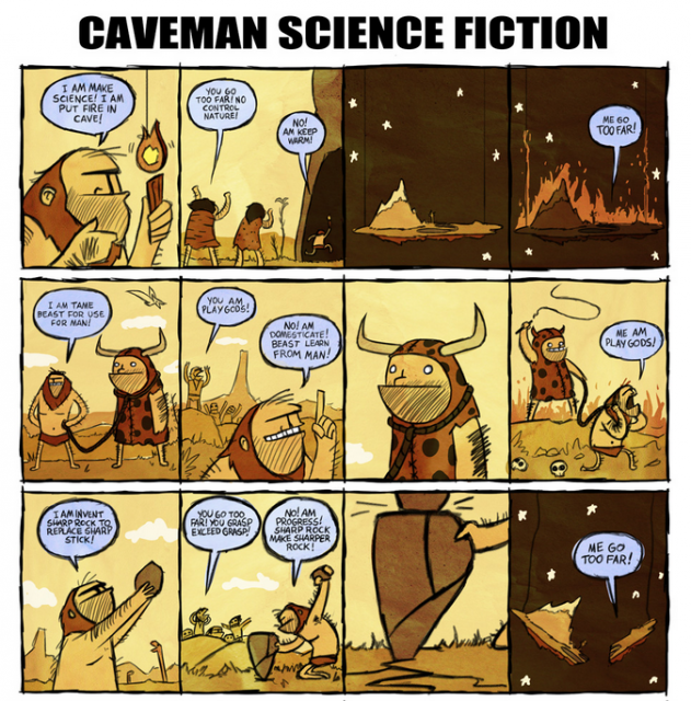 Caveman Science Fiction