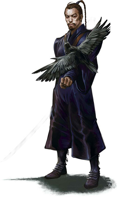 raven crow half man - photo #42