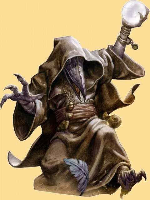 Ravenfolk Wizard