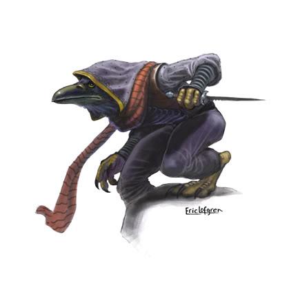 Ravenfolk Rogue