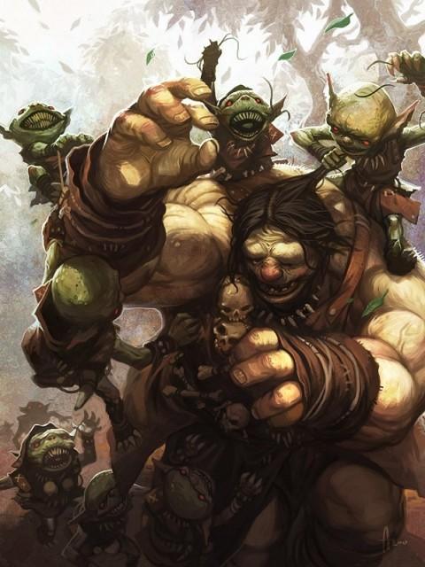 Gnoblars vs Ogre