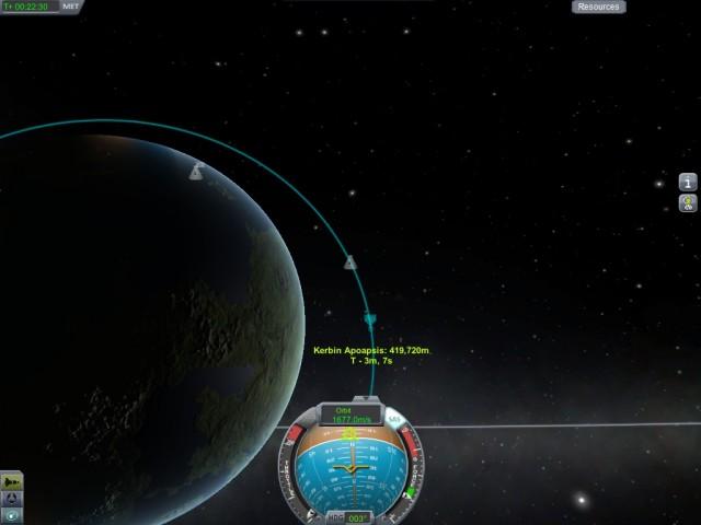 Establishing an Orbit