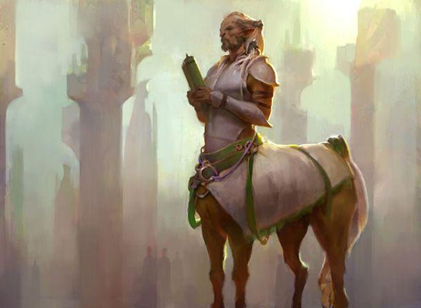 Centaur Cleric