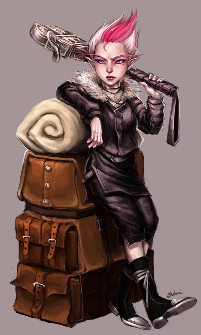 Female Gnome: 1000+ Images About EPIC FANTASY GNOMES On Pinterest