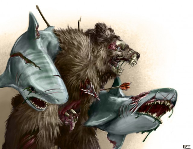 Sharkfist Grizzly Abomination