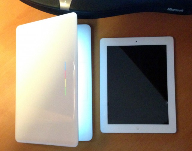 Size Comparison with the iPad