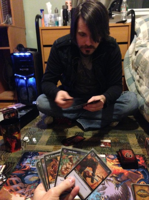 Warcraft CCG