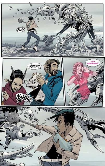 Saga is SF-Fantasy