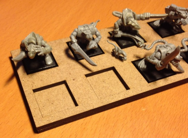 Skirmish Tray Closeup