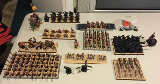 Army on the Table