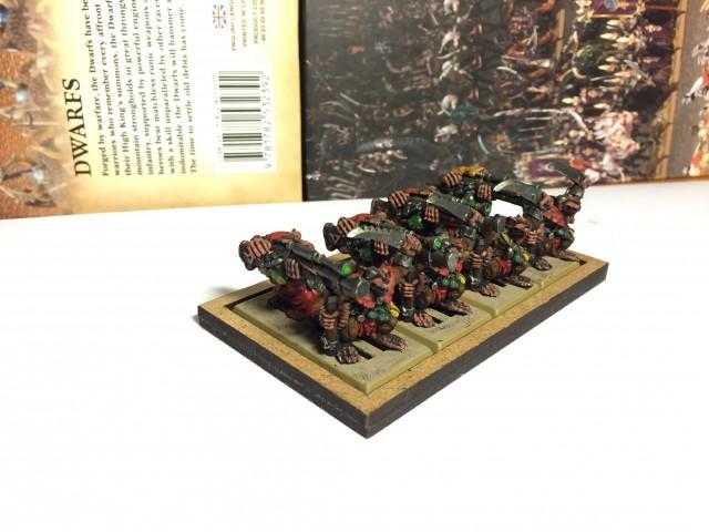 Four Warplock Jezzail Teams