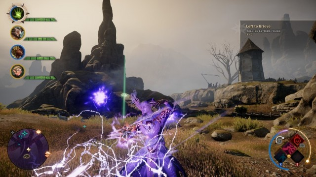 Most Dragon Age Inquisition spells are DPS.